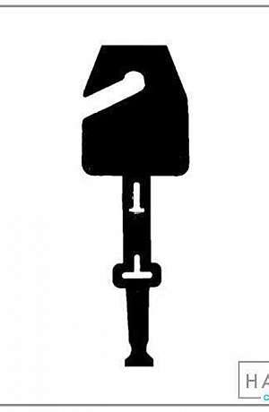 Cabide para pendurar cintos