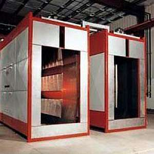 Fábrica de cabine de pintura